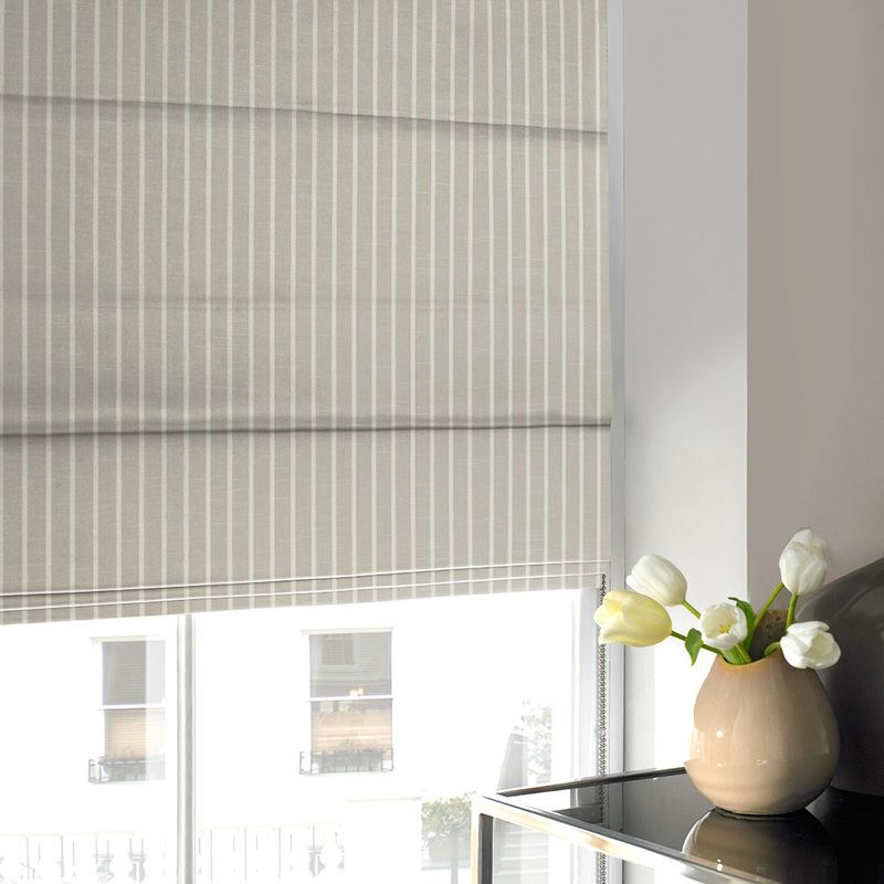 Stockists of Dove Chase Roman Blind