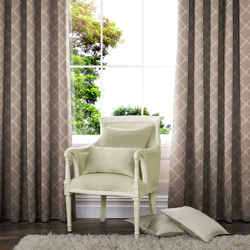 Stockists of Dove Leah Made to Measure Curtains