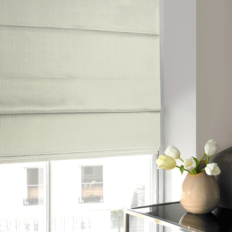 Stockists of Dove Swing Roman Blind