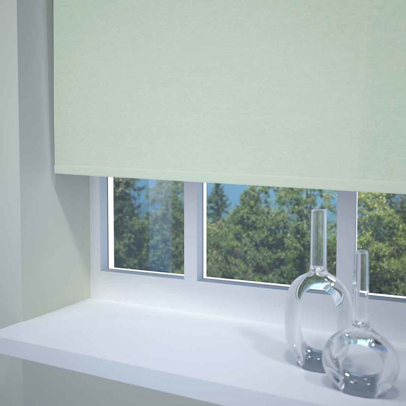 Bargain Duck Egg Kensington Plain Roller Blind Stockists