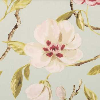 Bargain Duckegg Chinoise Curtain Fabric Stockists