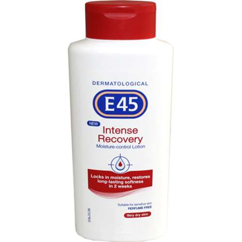 Bargain E45 Intense Recovery Moisture Control Lotion   400ml Stockists