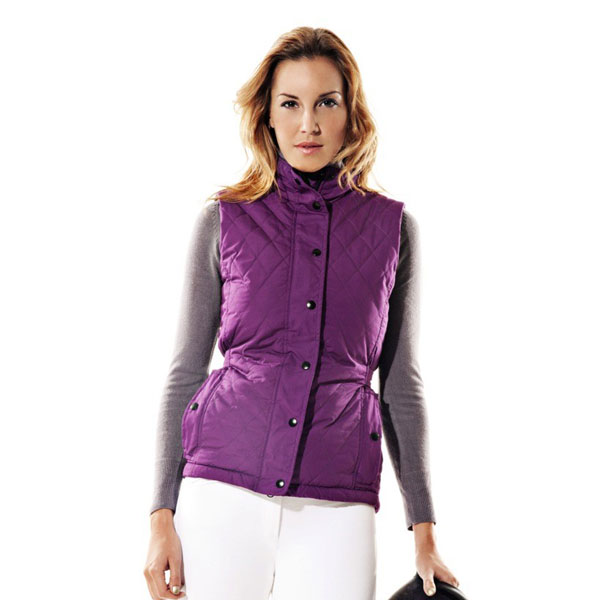Bargain EXOGLO Body warmer Heated Body Warmer & Power Pack Colour PURPLE Size 16 Stockists