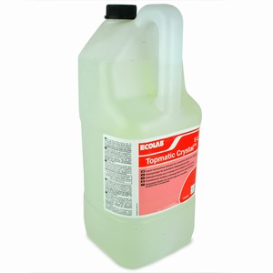 Bargain Ecolab Topmatic Crystal Glasswash 5ltr (Single) Stockists