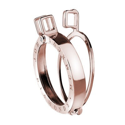 Bargain Emozioni Coin Keeper Rose Gold Silver 33mm Stockists