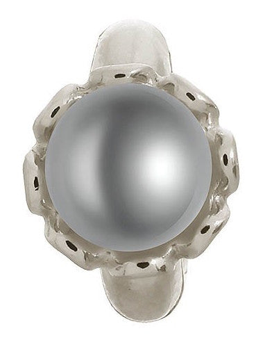 Bargain Endless Jewellery Charm Grey Pearl Flower Silver Stockists