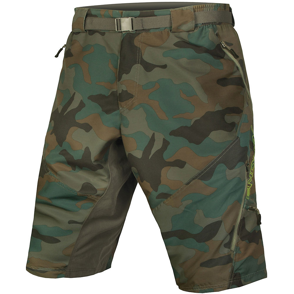 Bargain Endura Hummvee Camo II Shorts  with Liner SS17 Stockists