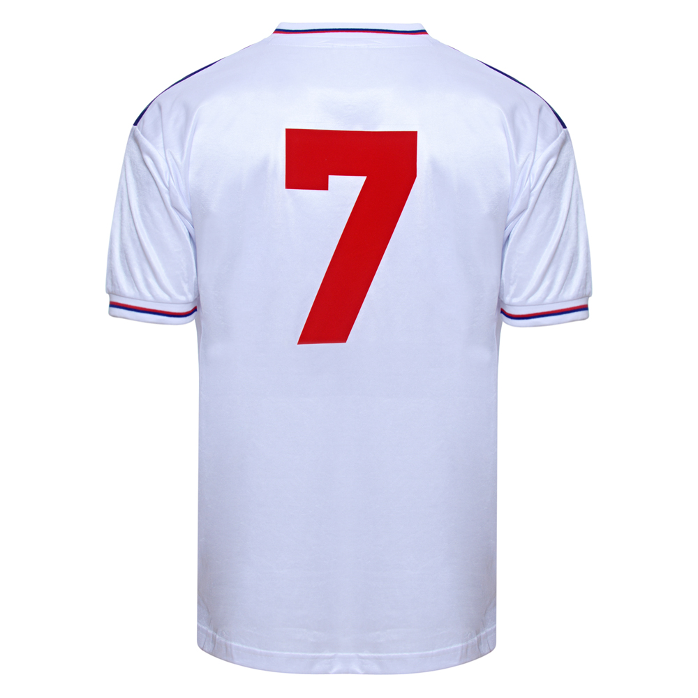 Bargain England 1982 World Cup Finals No7 shirt Stockists