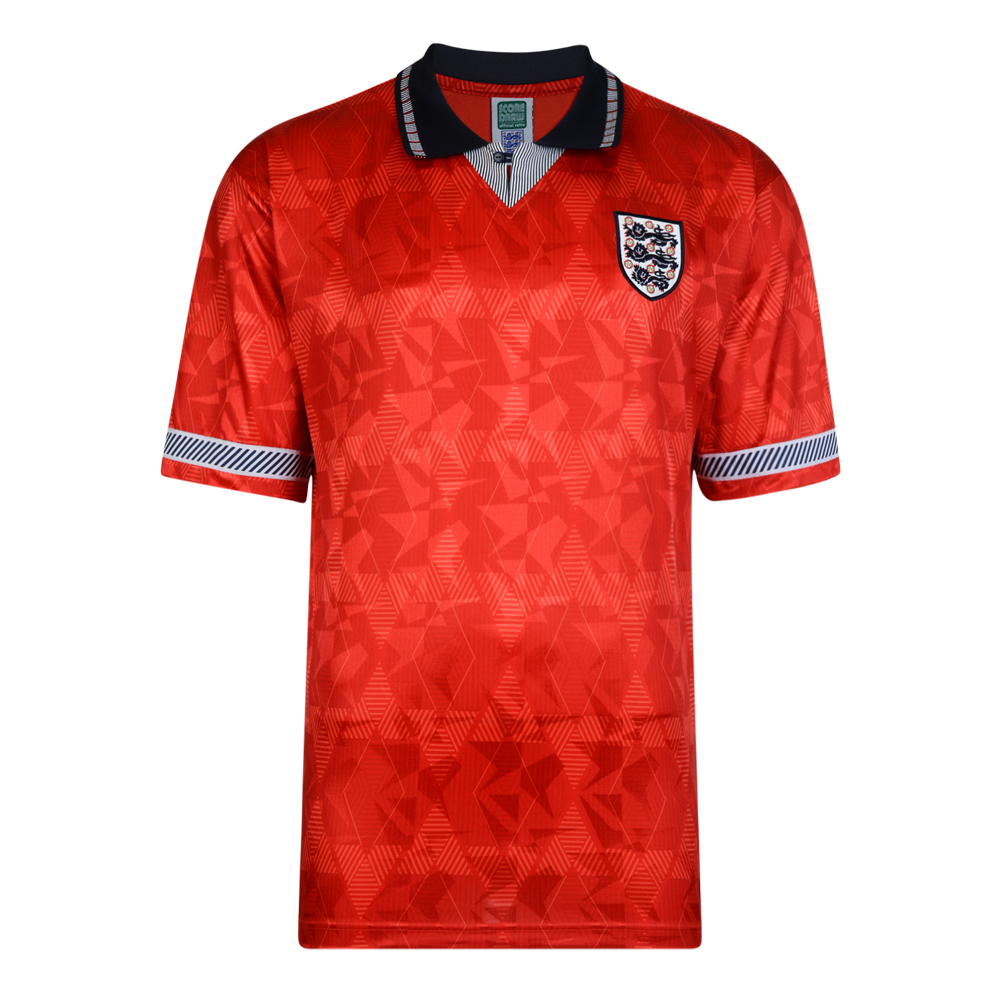 Best England 1990 World Cup Boys Away Retro Shirt Stockists