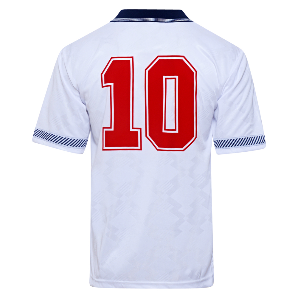 Best England 1990 World Cup Finals No10 Retro Shirt Stockists