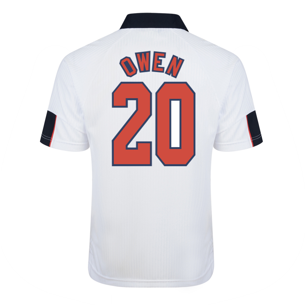 Best England 1998 World Cup Finals No20 Owen Shirt Stockists