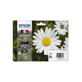 Bargain Epson 18 (T1806) Original Black & Colour Ink Cartridge 4 Pack Stockists