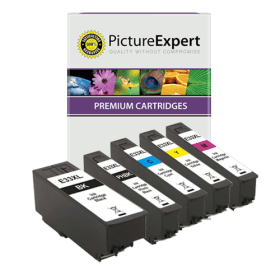 Bargain Epson 33XL (T3357) Compatible High Capacity Black & Colour Ink Cartridge 5 Pack Stockists