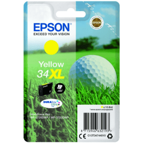 Bargain Epson 34XL (T3474) Original High Capacity Yellow Ink Cartridge Stockists