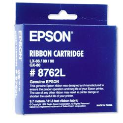 Bargain Epson SIDM Fabric Ribbon Cartridge For LX-86/80/GX-80 - C13S015053 Stockists