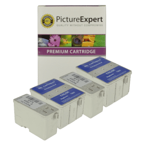 Bargain Epson T003 / T005 Compatible Black & Colour Ink Cartridge 4 Pack Stockists