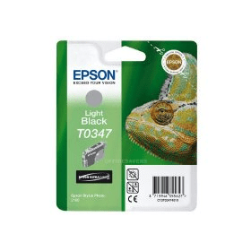 Bargain Epson T0347 Original Light Black Ink Cartridge Stockists