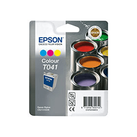 Bargain Epson T041 Original Colour Ink Cartridge Stockists