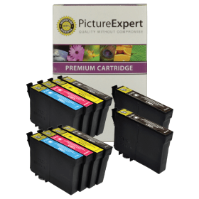 Bargain Epson T1285 Compatible Black & Colour Ink Cartridge 10 Pack Stockists