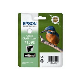 Bargain Epson T1590 Original Gloss Optimiser Ink Cartridge Stockists