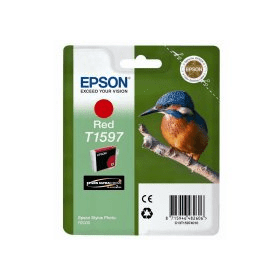Bargain Epson T1597 Original Red Ink Cartridge Stockists