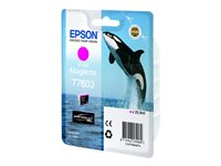Bargain Epson T7603   vivid magenta   original   ink cartridge Stockists