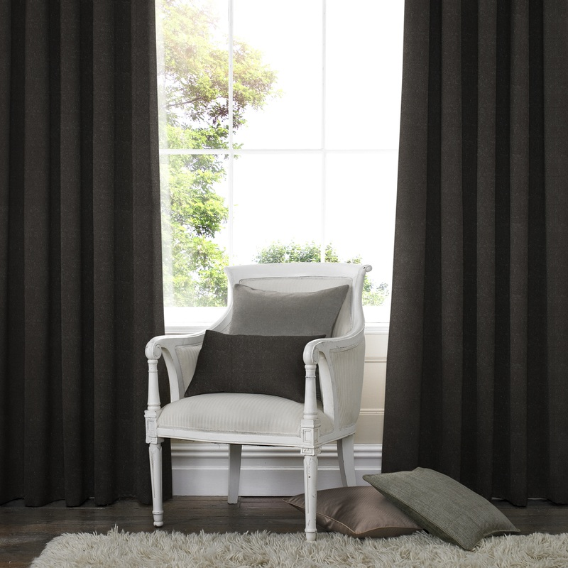 Stockists of Espresso Porto Made to Measure Curtains