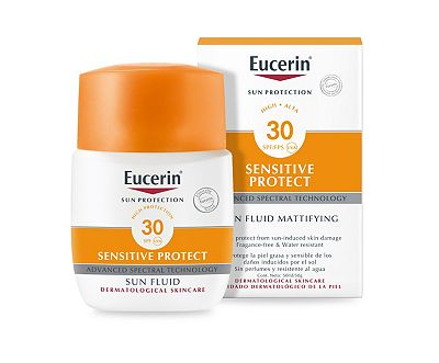 Bargain Eucerin Face Sun Fluid SPF30 50ml Stockists