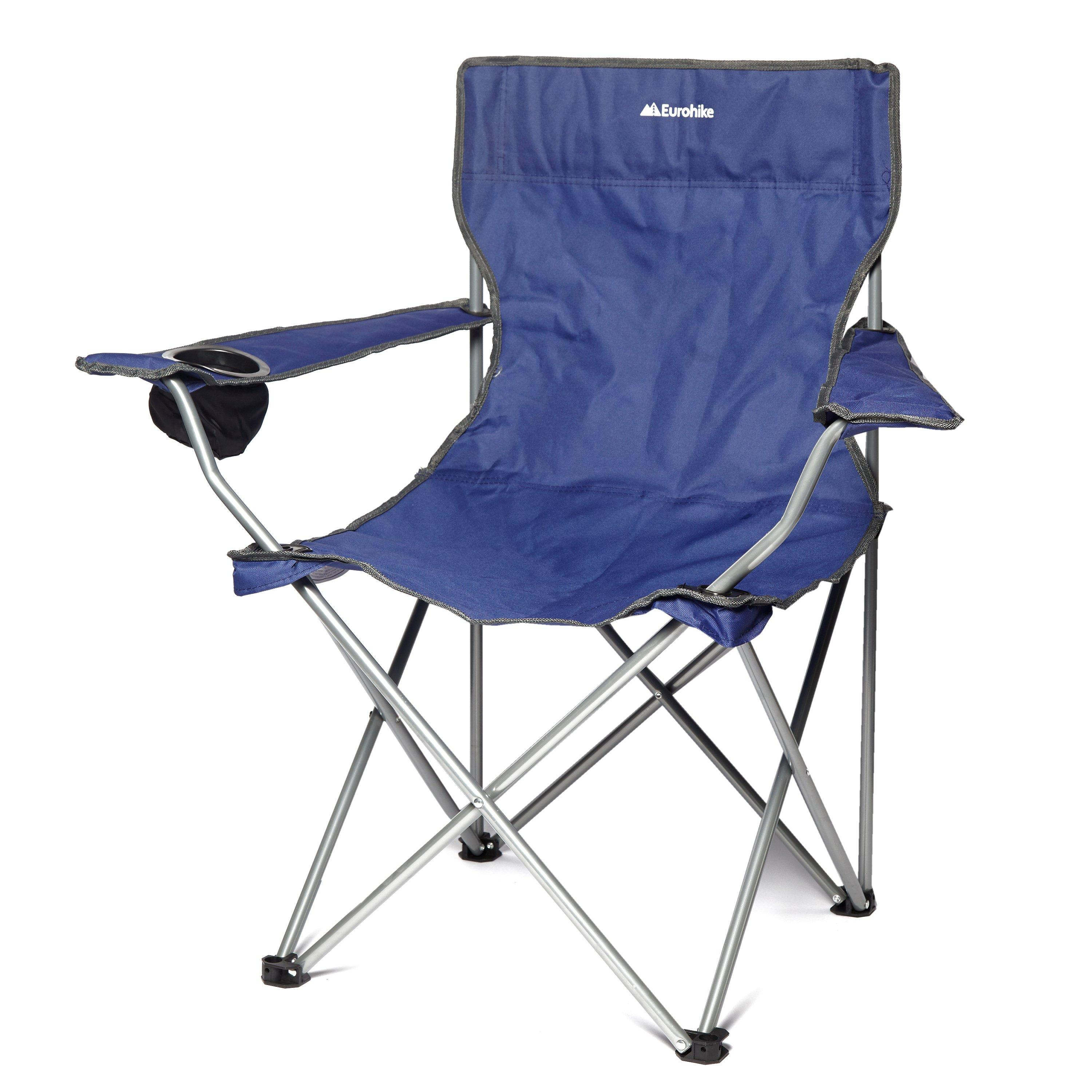 Bargain Eurohike Peak Folding Chair, Navy Stockists