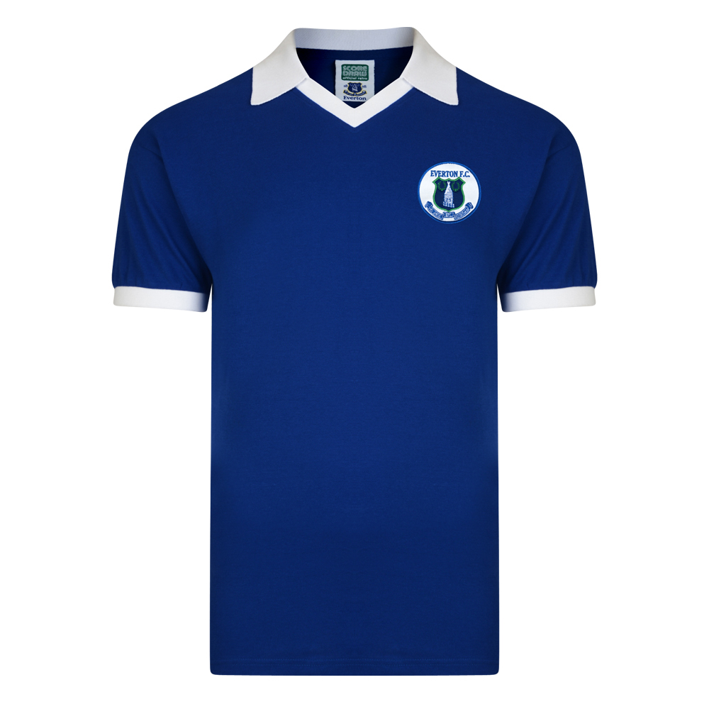 Bargain Everton 1978 Retro Football Shirt Stockists