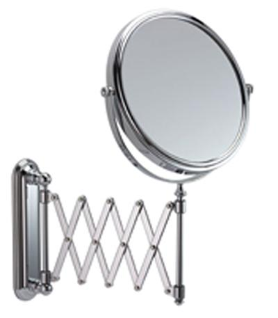 Bargain Extending Wall Chrome Mirror 5x Mag   Single Stockists