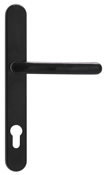Stockists of Fab & Fix Balmoral Door Handles 92/211mm Smooth Black