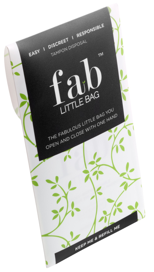 Bargain Fab Little Bag Tampon Disposal Bags   Refill Handbag Case of 5 Stockists