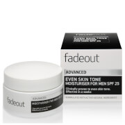 Bargain Fade Out ADVANCED Even Skin Tone Moisturiser for Men SPF 25 Stockists