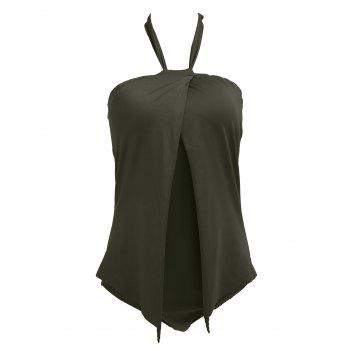 Bargain Fashionable Backless Halter Solid Color Women's Swimwear Stockists