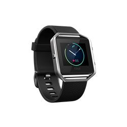 Bargain Fitbit Blaze, Black / Stainless Steel   Small Stockists
