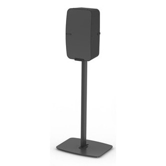Stockists of Flexson FLXP5FSV1024 Vertical Floor Stand for Sonos Play 5 in Black Si