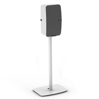 Stockists of Flexson FLXP5FSV1D14 Vertical Floor Stand for Sonos Play 5 in White Si