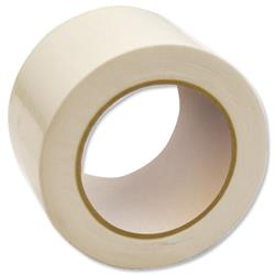 Bargain Floor Marking Tape Heavy Duty White 75mm x 33m Stockists