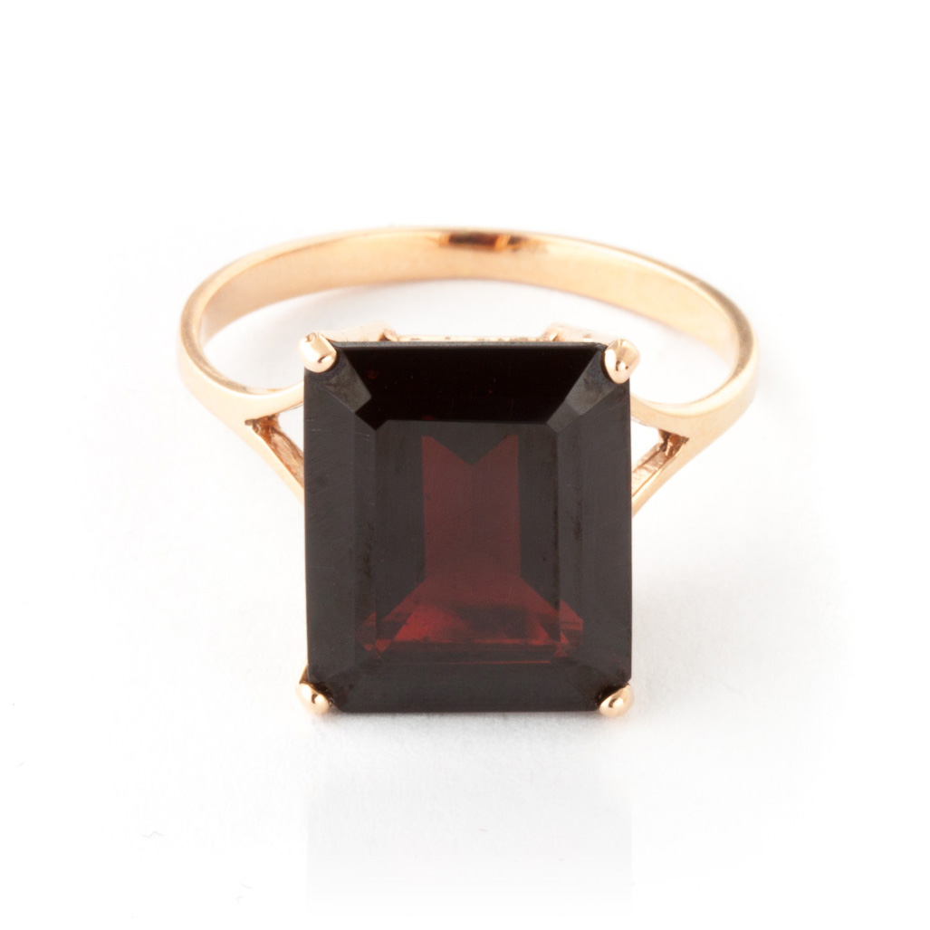 Bargain Garnet Ring 7.0ct in 9ct Rose Gold Stockists