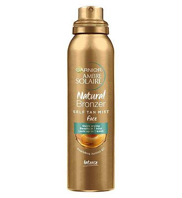 Bargain Garnier Ambre Solaire No Streaks Bronzer Self tanning Dry Face Mist Spray 75ml Stockists