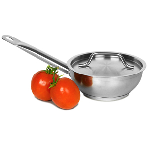 Bargain Genware Stainless Steel Sauteuse Pan & Lid 1ltr Stockists
