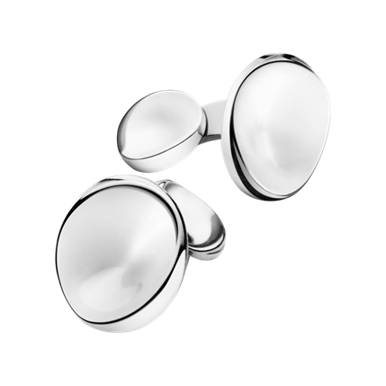 Bargain Georg Jensen 74C Sterling Silver Cufflinks Stockists