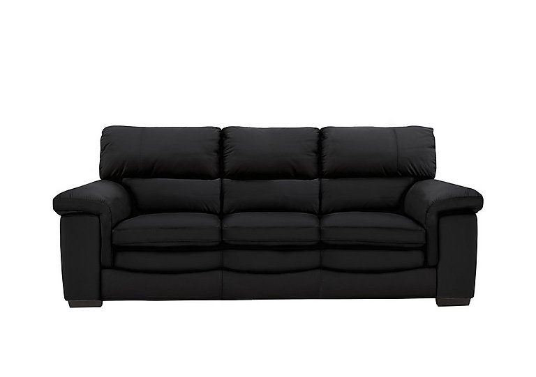 Bargain Georgia 3 Seater Leather Sofa Stockists