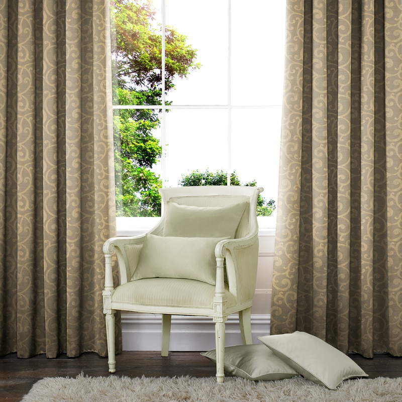 Stockists of Gold Nadia Made to Measure Curtains
