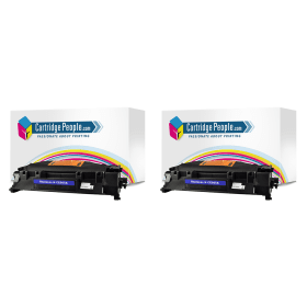 Bargain HP 05A ( CE505D ) Compatible Black Toner Cartridge Twin Pack Stockists