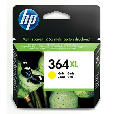 Bargain HP 364XL Yellow Inkjet Cartridge Stockists