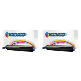 Bargain HP 645A ( C9730A ) Compatible Black Toner Cartridge Twinpack Stockists