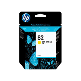 Bargain HP 82 ( C4913A ) Original High Capacity Yellow Ink Cartridge Stockists