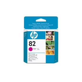 Bargain HP 82 ( CH567A ) Original Standard Capacity Magenta Ink Cartridge Stockists